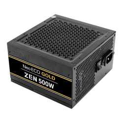 Antec 500W NeoECO Gold ZEN PSU, Fully Wired, LLC Design, 80+ Gold, Cont. Power