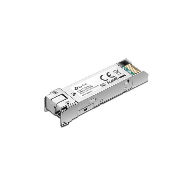 TP-LINK (TL-SM321B-2) 1000Base-BX WDM Bi-Directional SFP Module, Up to 2km, DDM, Hot Swappable