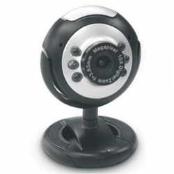 Dynamode M-1100M Webcam with Mic, 2.0MP, Snapshot Button, Blister Pack