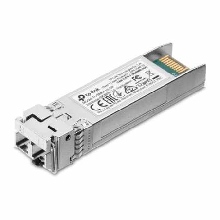 TP-LINK (TL-SM5110-SR) 10GBase-SR SFP+ LC Transceiver, Hot-Pluggable, DDM, Compatible with 10G SFP+ MS