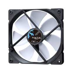 Fractal Design Dynamic X2 GP-14 14cm Case Fan, Long Life Sleeve Bearing, Counter-balanced Magnet, 1000 RPM, Black & White