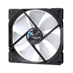 Fractal Design Dynamic X2 GP-14 PWM 14cm Case Fan, Long Life Sleeve Bearing, Counter-balanced Magnet, 1700 RPM, Black & White