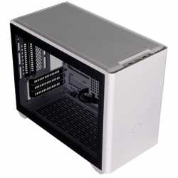 Cooler Master MasterBox NR200P Mini-ITX 2 x USB 3.2 Gen 1 Type-A Tempered Glass Side Window Panel White Case