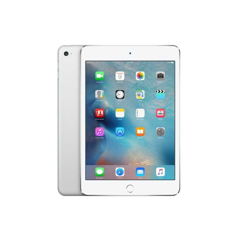Apple iPad Mini 4, 7 9 IPS, 128GB, WiFi, IOS12, A8 CPU, 8MP/1 2MP Cameras,  10 Hours Battery Life, Silver
