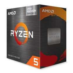 AMD Ryzen 5 5600G CPU with Wraith Stealth Cooler, AM4, 3.9GHz (4.4 Turbo), 6-Core, 65W, 19MB Cache, 7nm, 5th Gen, Radeon Graphic