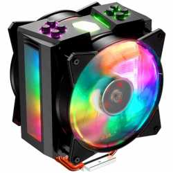 Cooler Master MasterAir MA410M Universal Socket 120mm PWM 1800RPM Addressable RGB LED Fan CPU Cooler with Wired Addressable RGB