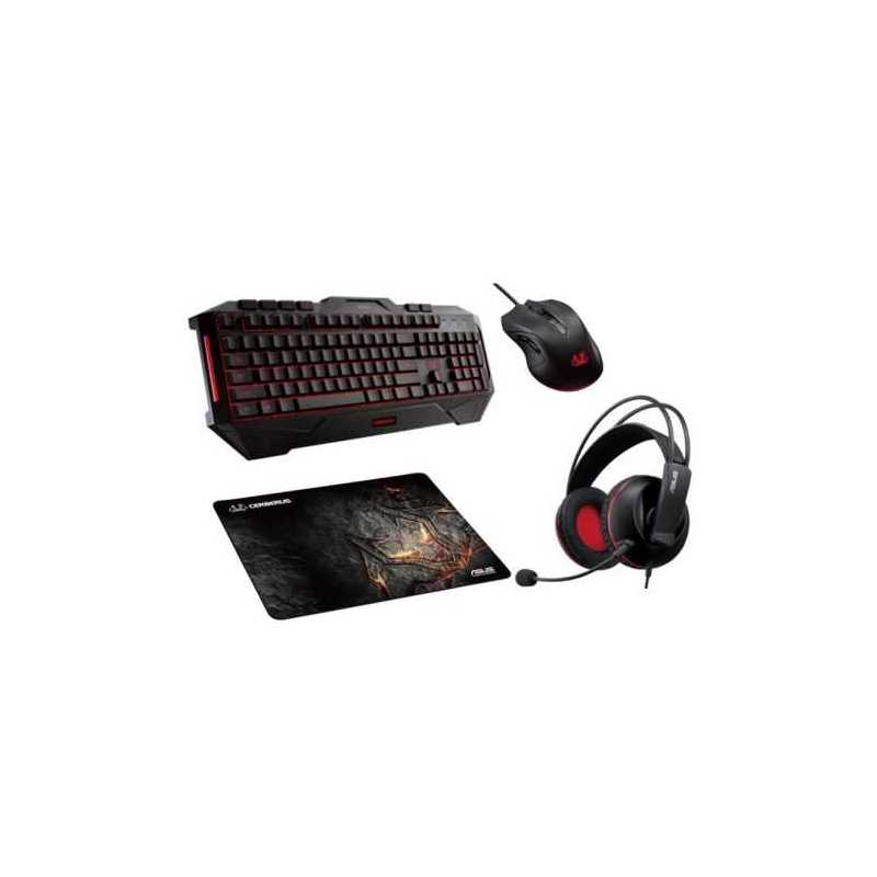 1e551f5a9df Asus CERBERUS Gaming Bundle - Keyboard, Headset, Mouse & Mouse Pad  Included, Soft Bundle - Westbrook Computers Ltd