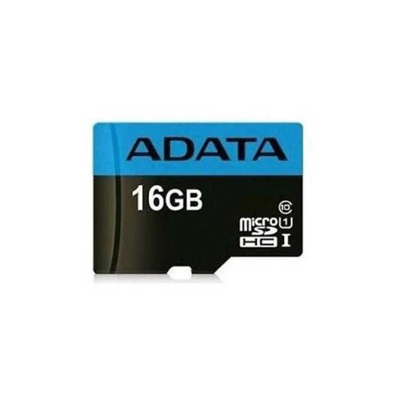 ADATA 16GB Premier Micro SD Card, Class 10 with A1 App Performance
