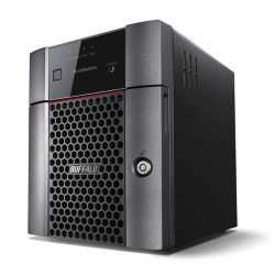 Buffalo 12TB TeraStation 3410DN Business Class NAS Drive, (4 x 3TB), RAID 0, 1, 5, 6, 10, JBOD, NovaBACKUP, Hot Swap