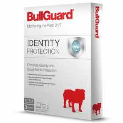 Bullguard Identity Protection - Single, Retail, 1 Year, 3 Users