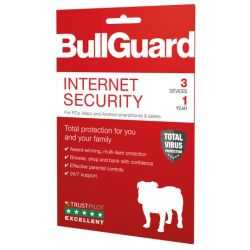 Bullguard Internet Security 2019 Retail, 3 User - 10 Pack, PC, Mac & Android, 1 Year