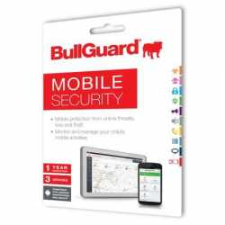 Bullguard New Mobile Internet Security - 25 Pack, 1 Year, 3 Devices, Retail
