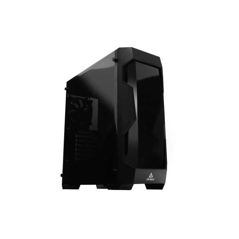 Antec DF-500 Gaming Case with Front & Side Windows, ATX, No PSU, Black