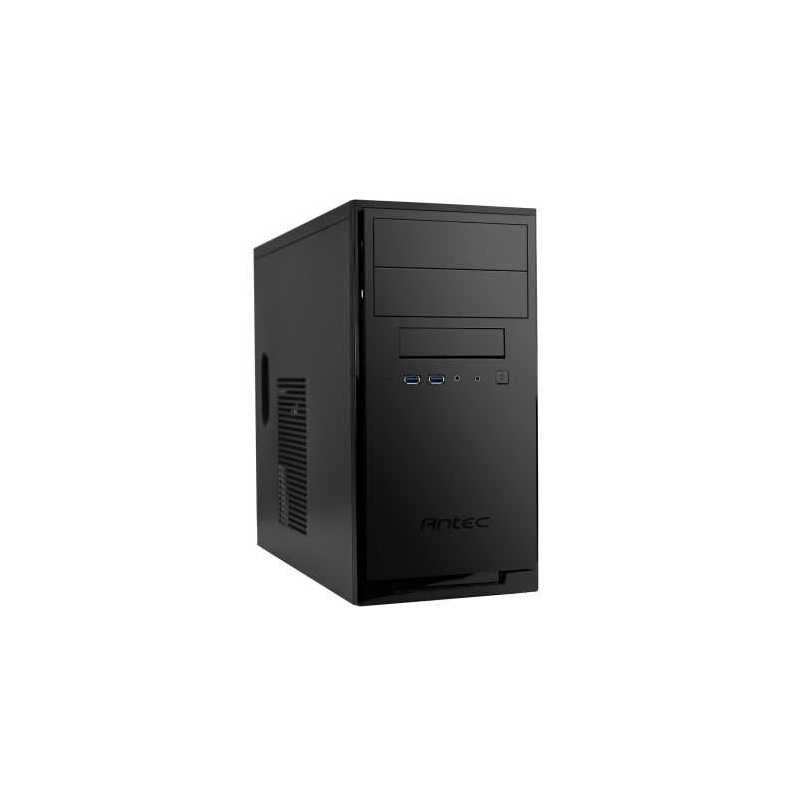 Antec NSK3100 Micro ATX Case, No PSU, USB 3.0, 1 x Fan, Matte Black