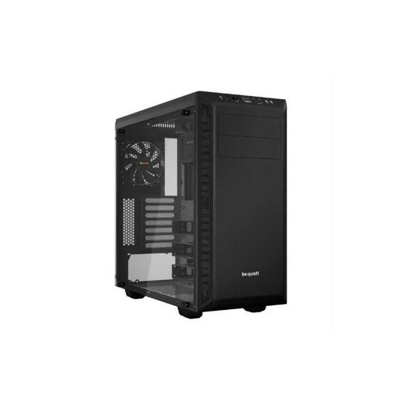 Be Quiet! Pure Base 600 Gaming Case with Window, ATX, No PSU, 2 x Pure Wings 2 Fans, Black