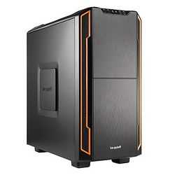 Be Quiet! Silent Base 600 Gaming Case, ATX, No PSU, Tool-less, 2 x Pure Wings 2 Fans, Orange Trim