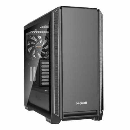 Be Quiet! Silent Base 601 Gaming Case with Window, E-ATX, No PSU, 2 x Pure Wings 2 Fans, PSU Shroud, Silver Trim
