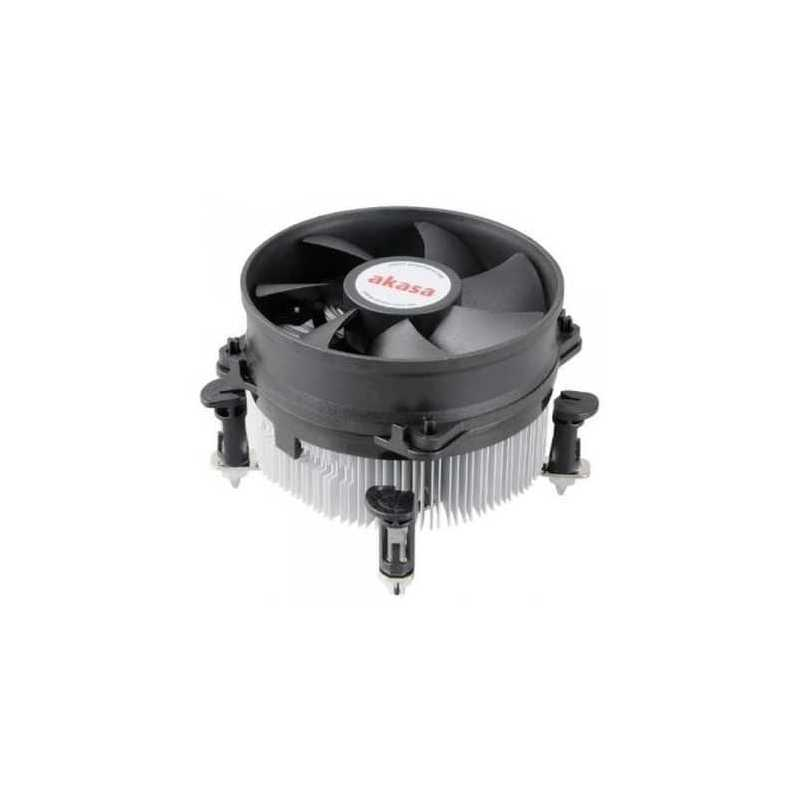 Akasa AK-7101CP Heatsink and Fan, Sockets 775, 1151, 1155, 1156 Heatsink and Fan, PWM Fan, Ultra Quiet