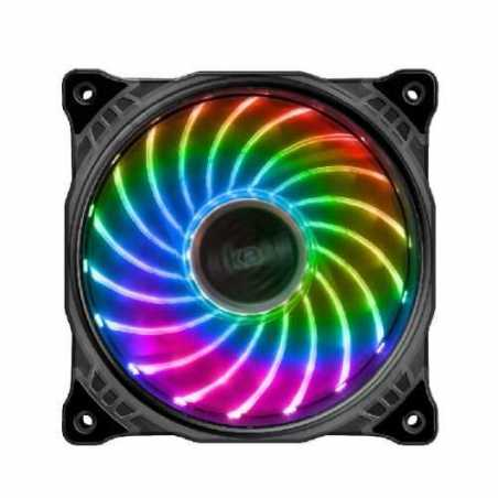 Akasa Vegas X7 12cm RGB Case Fan, Anti-Vibration, Fluid-Dynamic Bearing, Aura Sync Compatible