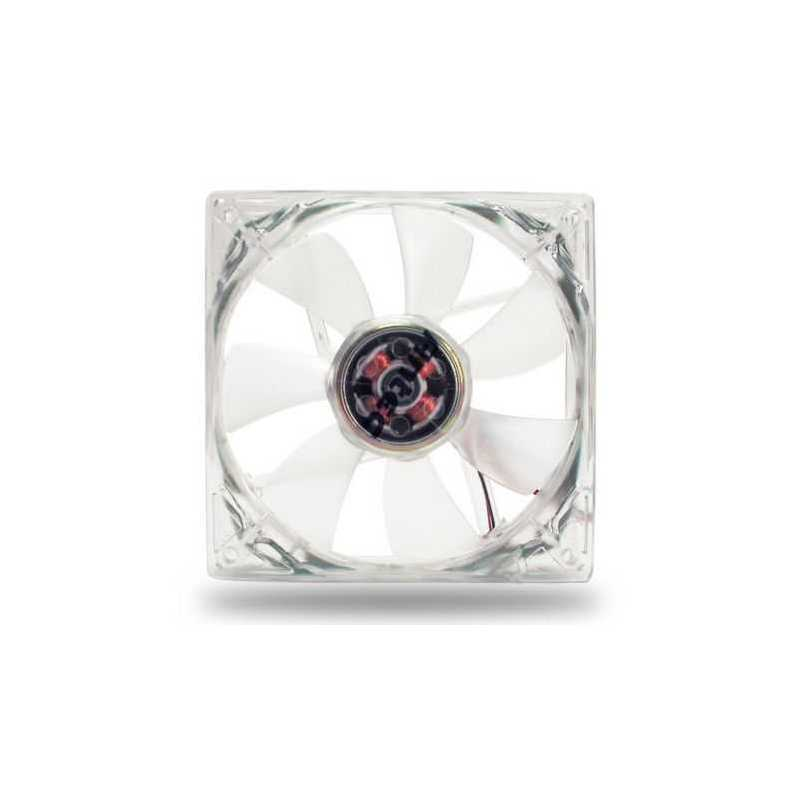 Antec Pro 8cm Clear Case Fan, 2600RPM, 3-pin with 4-pin Adapter