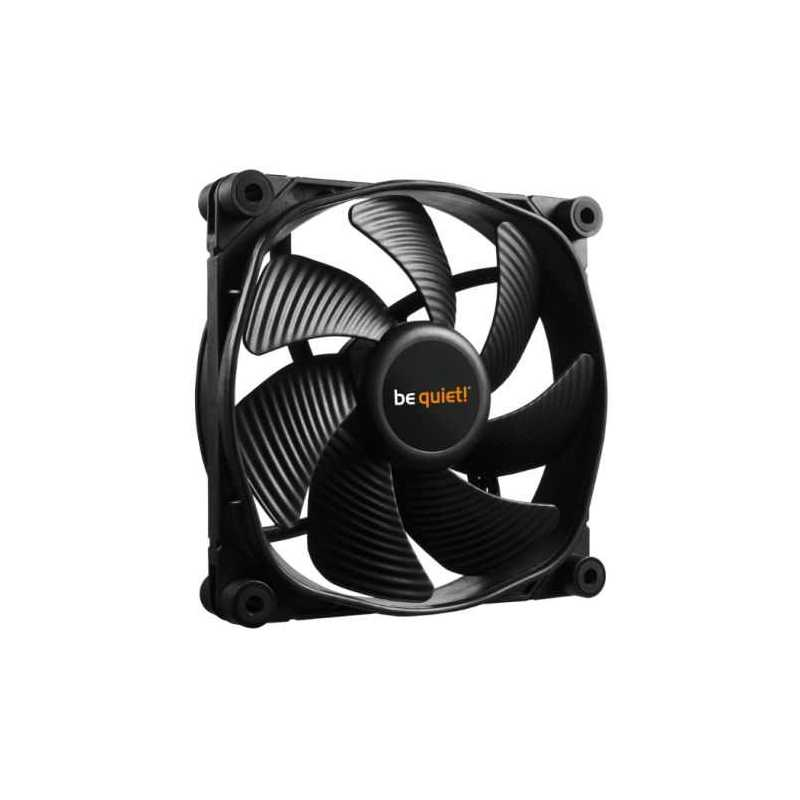 Be Quiet (BL070) Silent Wings 3 PWM High Speed Case Fan, 12cm, Black, Fluid Dynamic