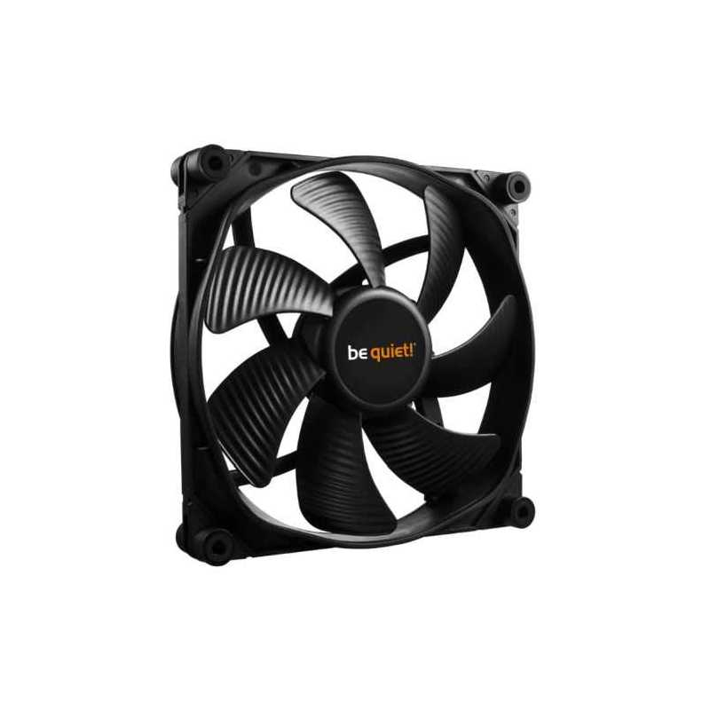 Be Quiet! (BL069) Silent Wings 3 14cm High Speed Case Fan, Black, Fluid Dynamic Bearing