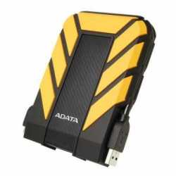 "ADATA 1TB HD710 Pro Rugged External Hard Drive, 2.5"", USB 3.1, IP68 Water/Dust Proof, Shock Proof, Yellow"