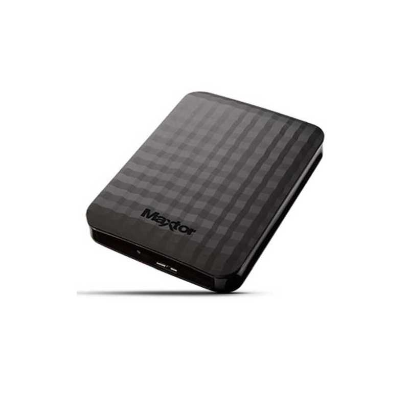 "Maxtor M3 Portable, 2TB External Hard Drive, 2.5"", USB 3.0, Black"