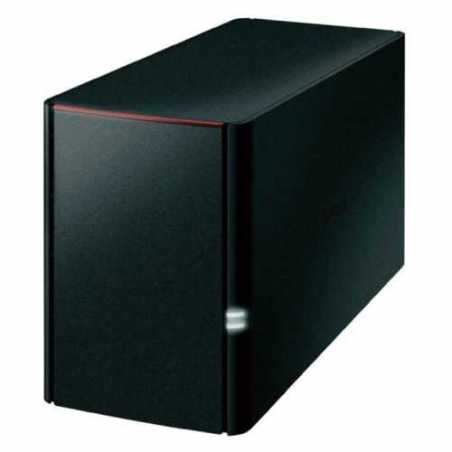Buffalo 2TB LinkStation 220 NAS Drive, (2 x 1TB), RAID 0/1, GB LAN, NovaBACKUP, Built-in BitTorrent