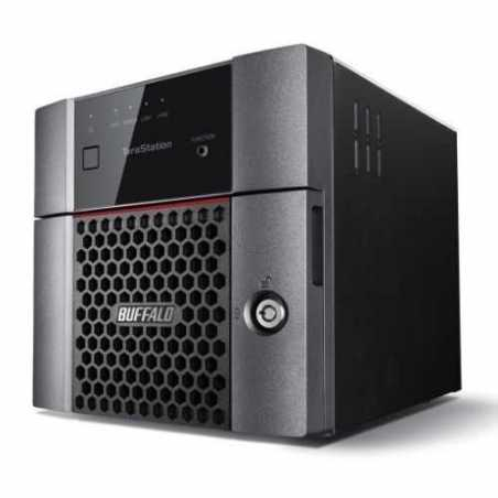Buffalo 4TB TeraStation 3210DN Business Class NAS Drive, (2 x 2TB), RAID 0, 1, JBOD, GB LAN, NovaBACKUP, Hot Swap