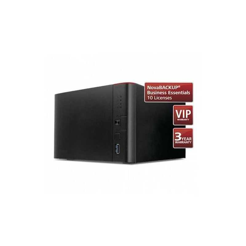 Buffalo 8TB TeraStation 1400 Business Class NAS Drive (4 x 2TB),  NovaBACKUP, 24 Hour HDD Swap Out Warranty