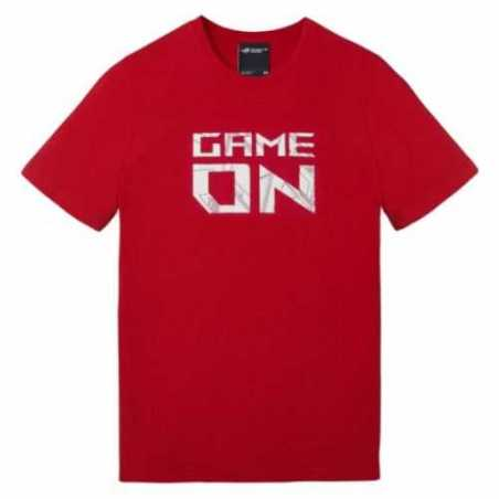 Asus ROG Game On T-Shirt, Red, Large