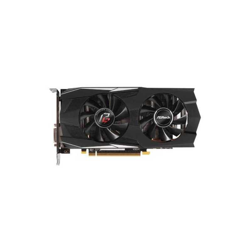 Asrock Phantom Gaming D Radeon RX570 4G, 4GB DDR5, PCIe3, DVI, HDMI, 3DP,  1293MHz Clock