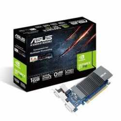 Asus GT710, 1GB DDR5, PCIe2, VGA, DVI, HDMI, 954MHz Clock, Silent, Low Profile (No Bracket)