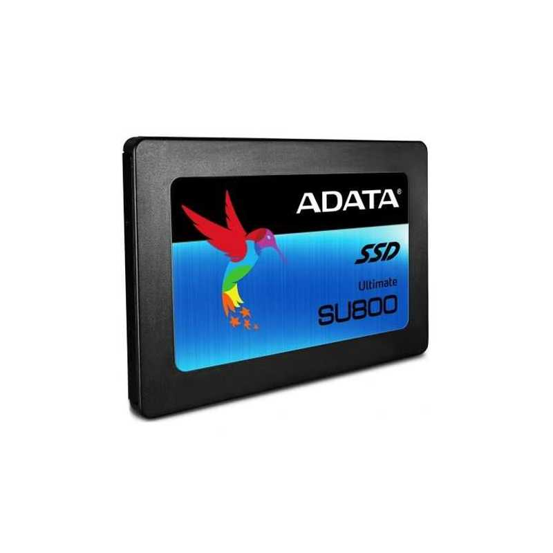 """ADATA 128GB Ultimate SU800 SSD, 2.5"""", SATA3, 7mm (2.5mm Spacer), 3D NAND, R/W 560/300 MB/s"""