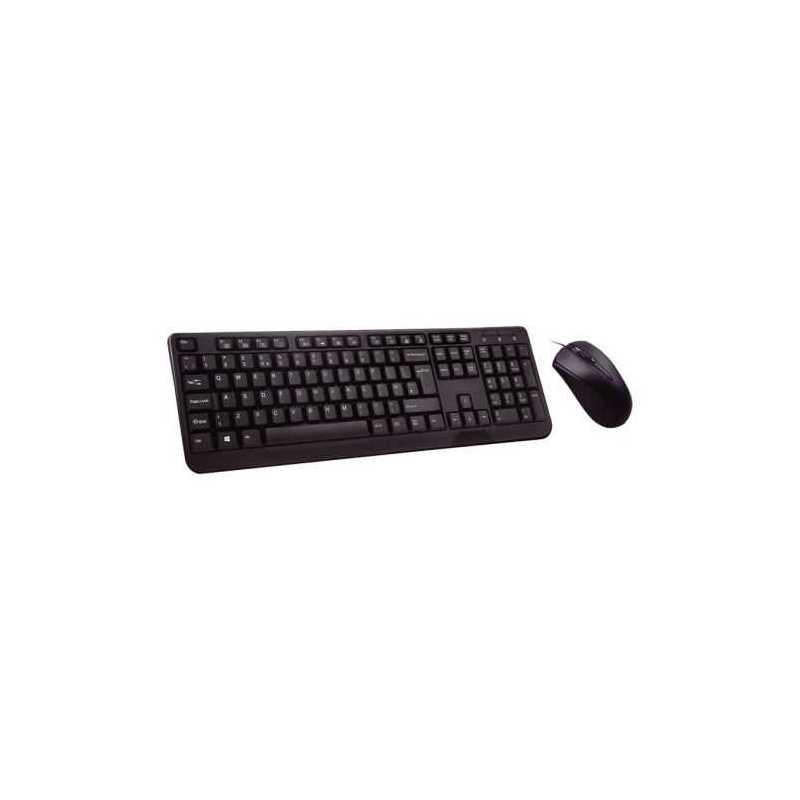 Builder Wired Keyboard and Mouse Desktop Kit, USB