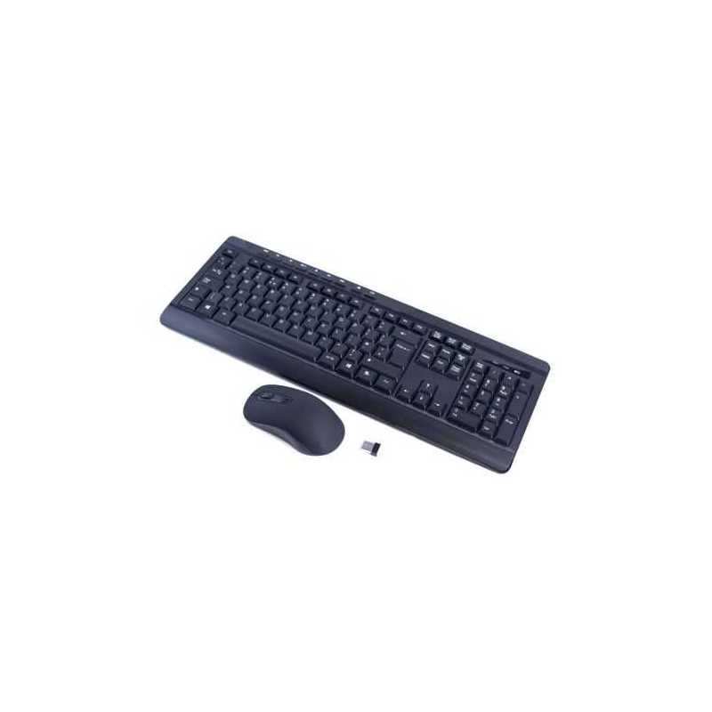 Sumvision Paradox VI Wireless Keyboard and Mouse Desktop Kit, Multimedia, Black, Retail
