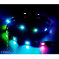 Akasa Vegas Addressable MBA RGB LED Light Strip, 60cm, 5V, Magnetic Backing, Aura Sync Compatible