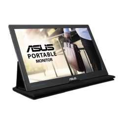 """Asus 15.6"""" Portable IPS Monitor (MB169C+), 1920 x 1080, USB Type-C, USB-powered, Ultra-slim, Asus Eye Care, Smart Case Stand"""