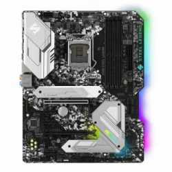 Asrock Z390 STEEL LEGEND, Intel Z390, 1151, ATX, XFire, HDMI, DP, USB 3.2, RGB Lighting, Rock-Solid Durability