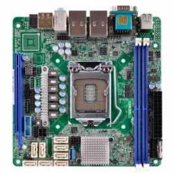 Asrock Rack C236 WSI Server Board, Intel C236, 1151, Mini ITX, DDR4, Dual GB LAN, Serial Port