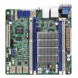 Asrock Rack C2750D4I Server Board, Integrated CPU, Mini ITX, Dual GB LAN, Serial Port, IPMI LAN