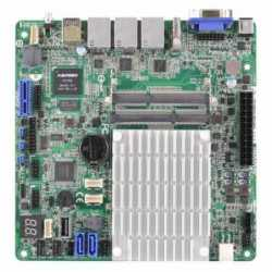 Asrock Rack J1900D2Y Server Board, Integrated CPU, Mini ITX, Dual GB LAN, USB3, IPMI LAN